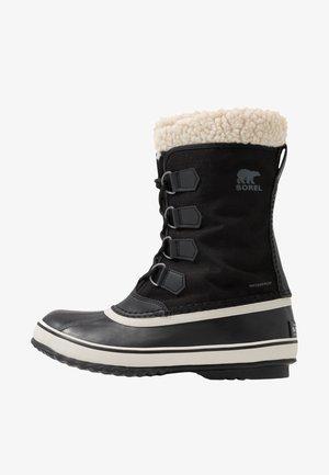WINTER CARNIVAL - Winter boots - black/stone