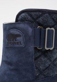 Sorel - NEWBIE - Vinterstøvler - dunkelblau - 5