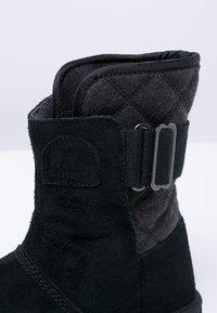 Sorel - NEWBIE - Zimní obuv - black - 5