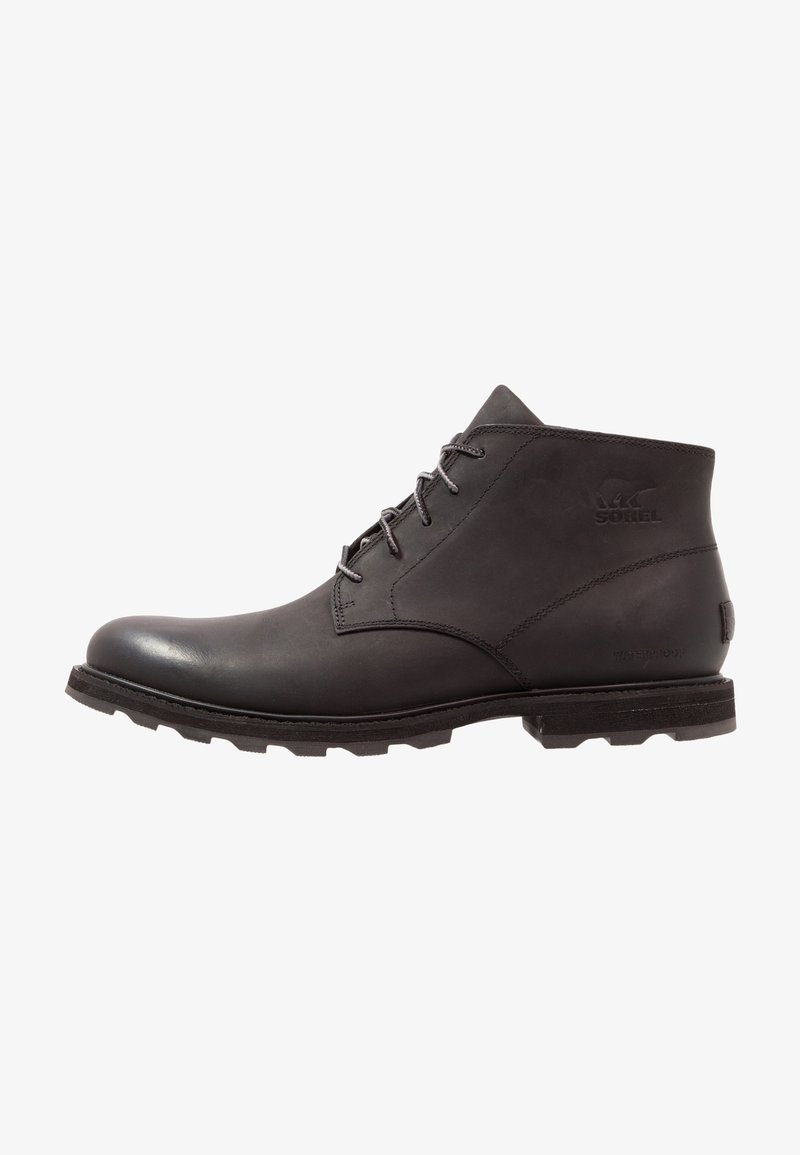 Sorel - MADSON CHUKKA WATERPROOF - Lace-up ankle boots - schwarz