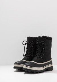Sorel - CARIBOU - Winter boots - black - 2