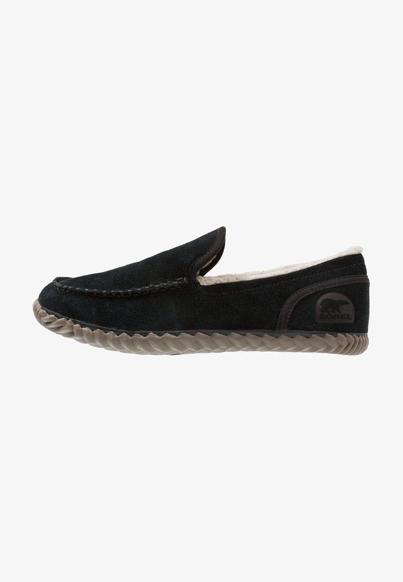 Sorel - DUDE MOC - Domácí obuv - black
