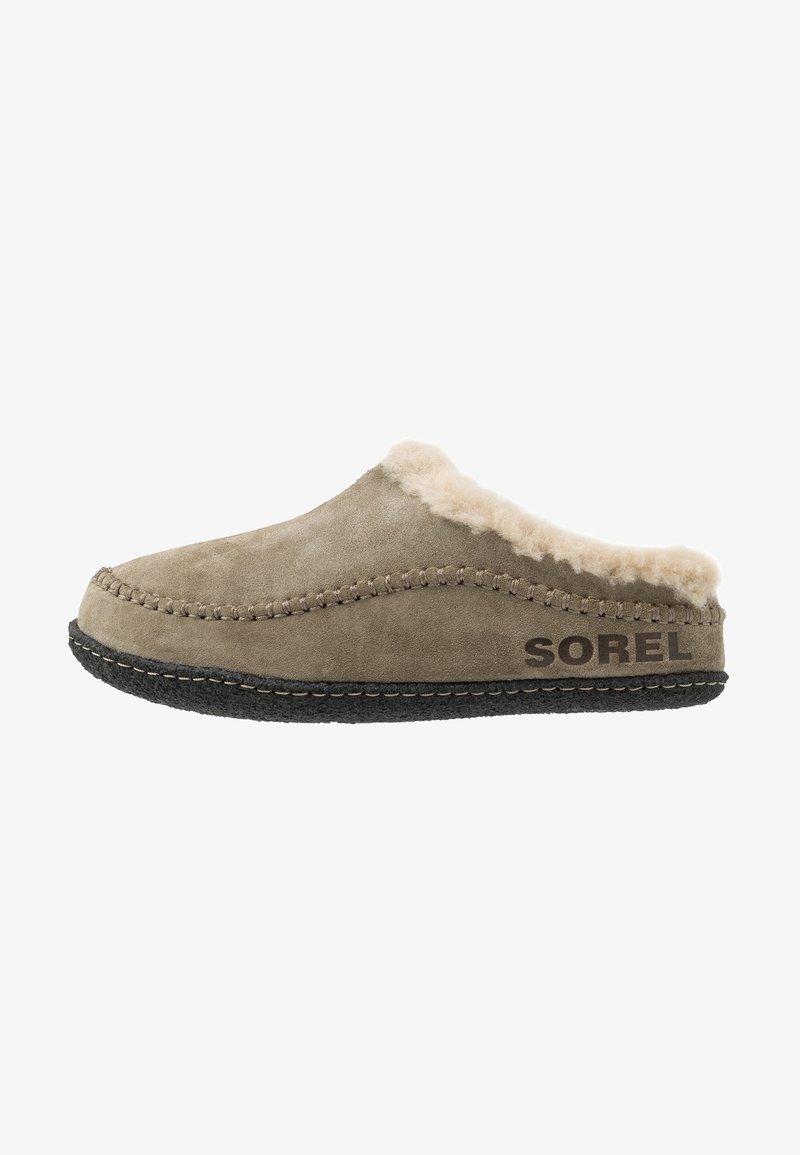 Sorel - RIDGE - Domácí obuv - sage/black