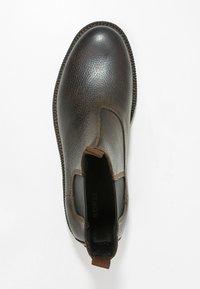 Sorel - MADSON CHELSEA - Šněrovací kotníkové boty - tobacco/black - 1
