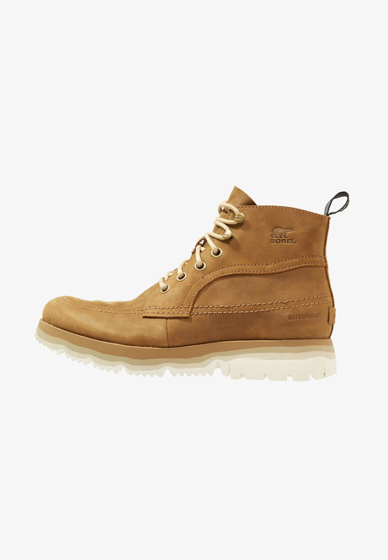 Sorel - ATLIS CHUKKA - Šněrovací kotníkové boty - elk/oatmeal