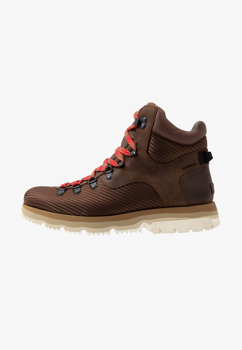 Sorel - ATLIS AXE - Lace-up ankle boots - tobacco/black