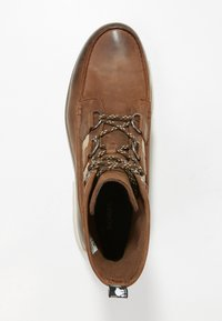 Sorel - ATLIS CARIBOU - Lace-up ankle boots - tobacco/dark stone - 1