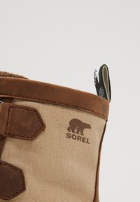 Sorel - ATLIS CARIBOU - Lace-up ankle boots - tobacco/dark stone - 5