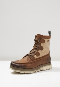 Sorel - ATLIS CARIBOU - Lace-up ankle boots - tobacco/dark stone - 2