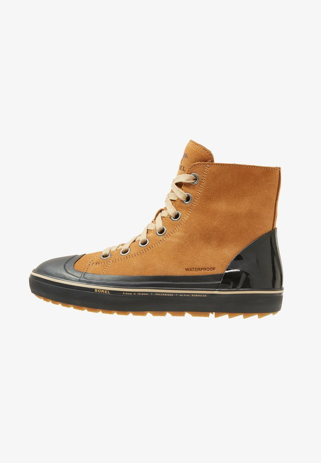 CHEYANNE - High-top trainers - elk/black