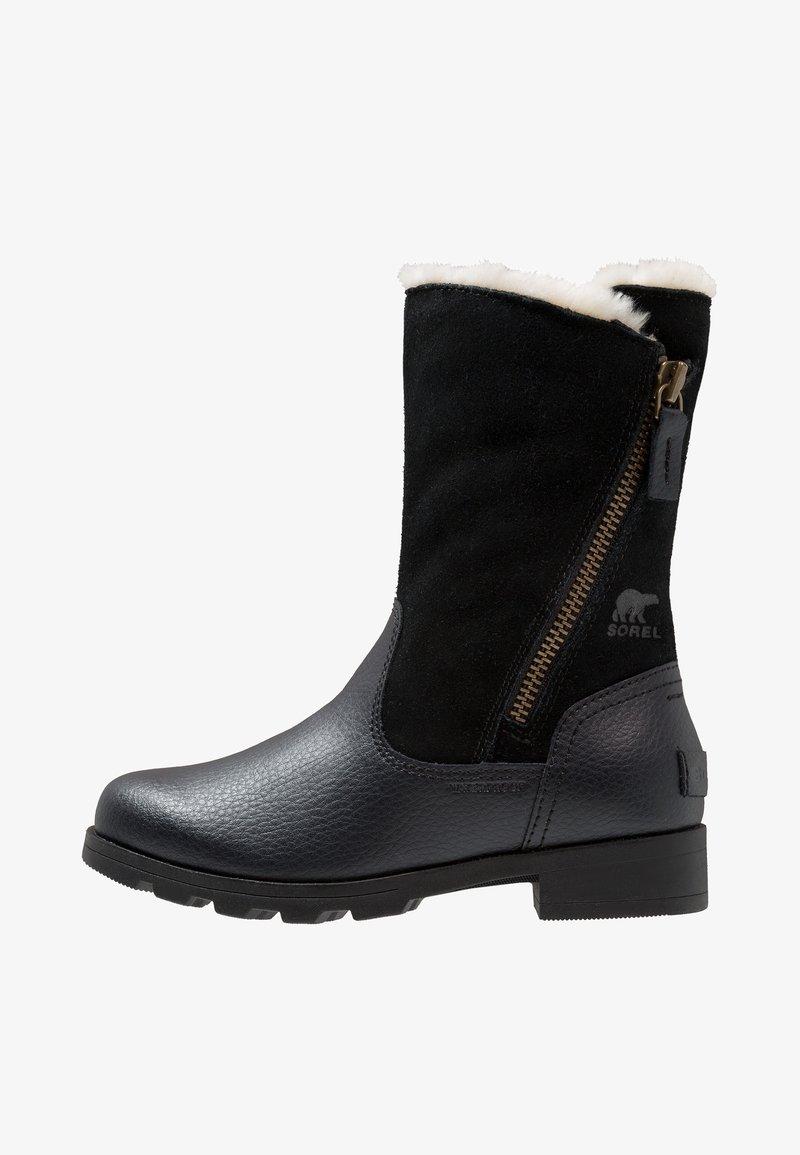 Sorel - EMELIE FOLD-OVER - Snowboot/Winterstiefel - black