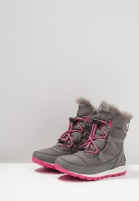 Sorel - WHITNEY SHORT LACE - Veterboots - grey - 3