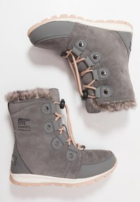 Sorel - YOUTH WHITNEY - Snowboot/Winterstiefel - quarry - 0