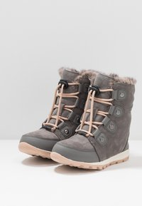 Sorel - YOUTH WHITNEY - Snowboot/Winterstiefel - quarry - 3