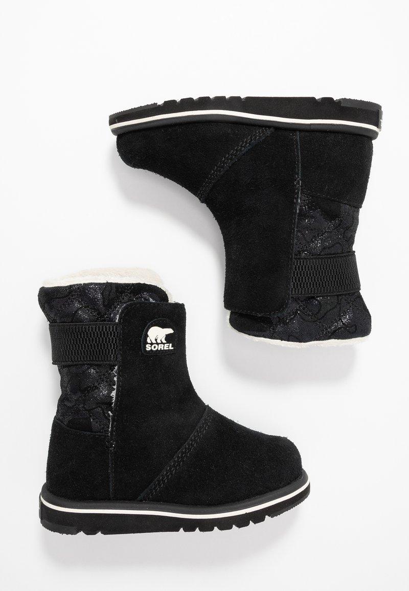 Sorel - CHILDRENS RYLEE CAMO - Winter boots - black/light bisque