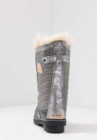 Sorel - YOUTH TOFINO II FOIL - Stivali da neve  - quarry/natural tan - 4