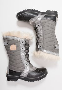 Sorel - YOUTH TOFINO II FOIL - Śniegowce - quarry/natural tan - 1