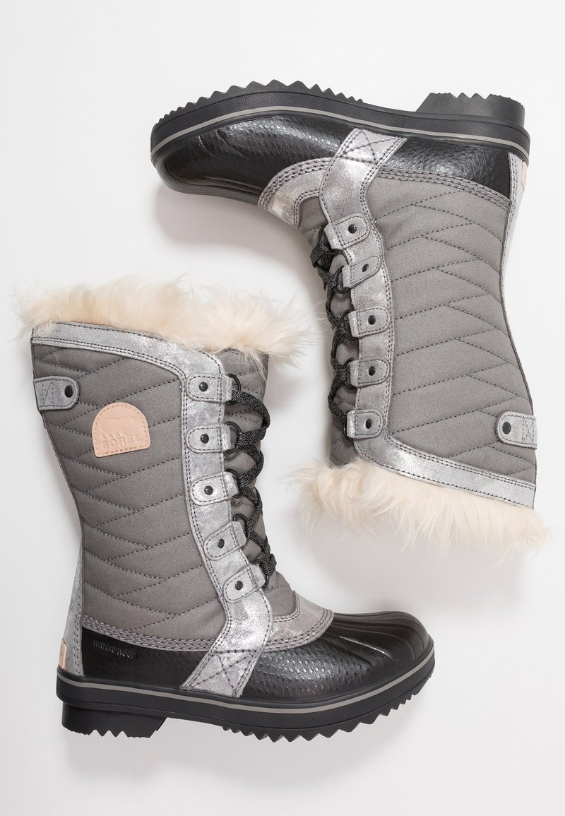 Sorel - YOUTH TOFINO II FOIL - Stivali da neve  - quarry/natural tan