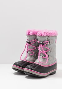Sorel - YOOT PAC - Botas para la nieve - chrome grey/orchid - 3