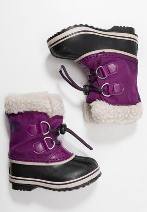 YOOT PAC - Bottes de neige - wild iris/dark plum