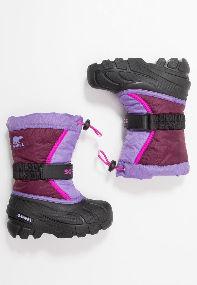 Sorel - YOUTH FLURRY - Talvisaappaat - purple dahlia/paisley purple
