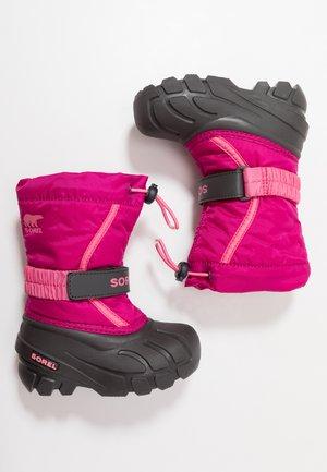 YOUTH FLURRY - Vinterstövlar - deep blush/tropic pink