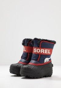Sorel - CHILDRENS - Zimní obuv - nocturnal/sail red - 3