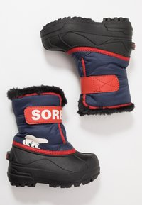 Sorel - CHILDRENS - Zimní obuv - nocturnal/sail red - 0