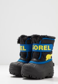 Sorel - CHILDRENS - Zimní obuv - black/super blue - 3