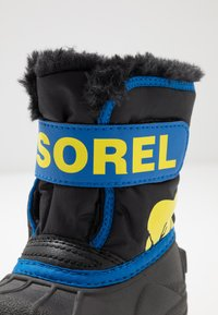 Sorel - CHILDRENS - Zimní obuv - black/super blue - 2