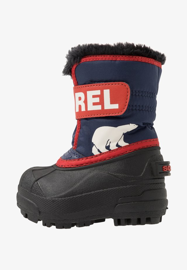 CHILDRENS - Bottes de neige - nocturnal/sail red