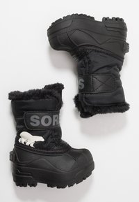 Sorel - CHILDRENS - Bottes de neige - black/charcoal - 0