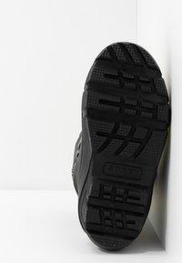 Sorel - YOUTH FLURRY - Winter boots - dark grey/warning yellow - 5