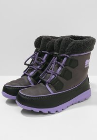 Sorel - WHITNEY CARNIVAL - Lace-up ankle boots - dark grey - 2