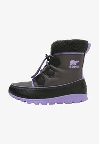 Sorel - WHITNEY CARNIVAL - Lace-up ankle boots - dark grey - 0