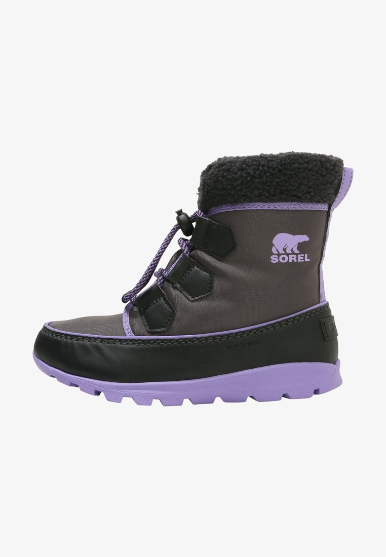 Sorel - WHITNEY CARNIVAL - Lace-up ankle boots - dark grey