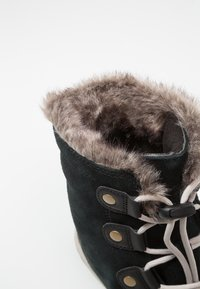Sorel - YOUTH WHITNEY - Lace-up ankle boots - black/dark stone - 2