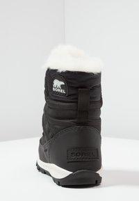 Sorel - YOUTH WHITNEY SHORT LACE - Botas para la nieve - black/sea salt - 4