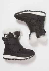 Sorel - WHITNEY - Zimní obuv - black/sea salt - 0