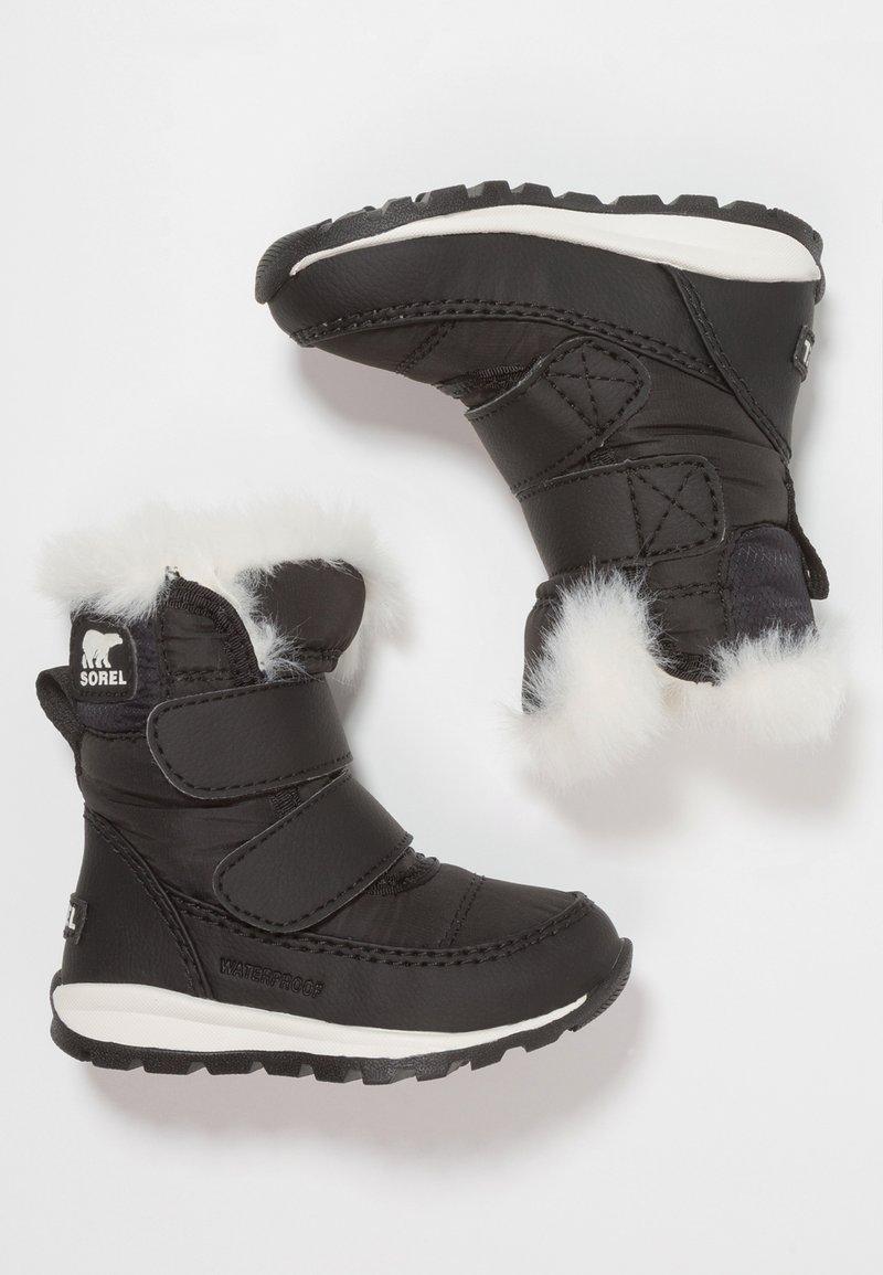 Sorel - WHITNEY - Zimní obuv - black/sea salt