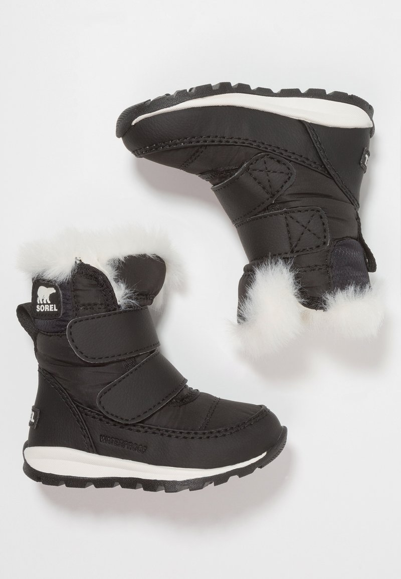 Sorel - WHITNEY - Winter boots - black/sea salt