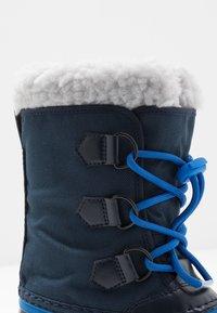 Sorel - YOOT PAC - Bottes de neige - collegiate navy/super blue - 2