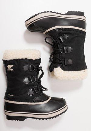 YOOT PAC - Vinterstøvler - black