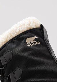 Sorel - YOOT PAC - Śniegowce - black - 2