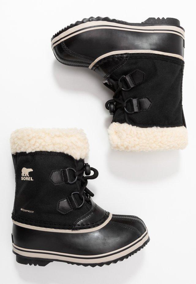 YOOT PAC - Snowboots  - black