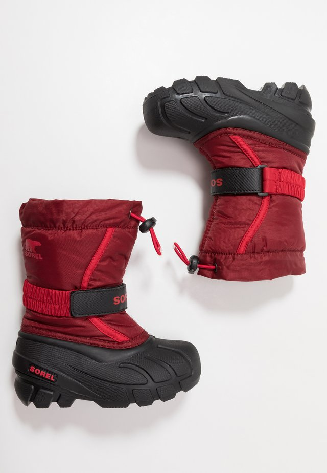 YOUTH FLURRY - Talvisaappaat - red jasper/mountain red