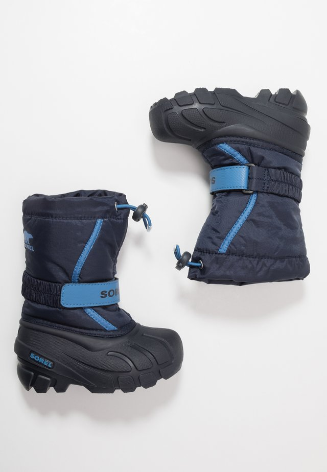 YOUTH FLURRY - Snowboot/Winterstiefel - collegiate navy/atmosphere