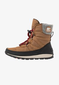 Sorel - YOUTH WHITNEY SHORT LACE - Snowboot/Winterstiefel - camel - 1