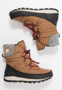 Sorel - YOUTH WHITNEY SHORT LACE - Snowboot/Winterstiefel - camel - 0