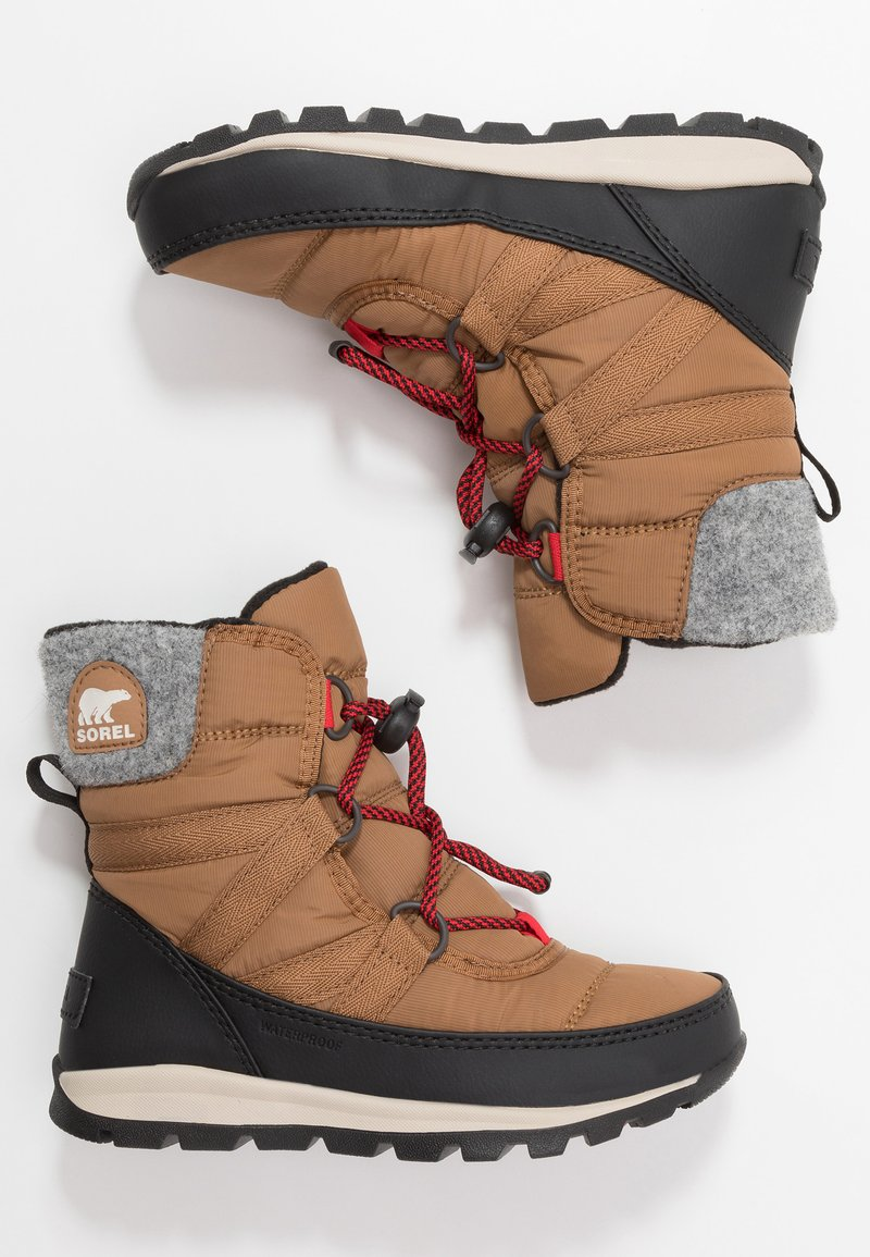 Sorel - YOUTH WHITNEY SHORT LACE - Snowboot/Winterstiefel - camel